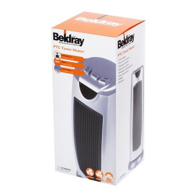 Beldray tower cooling fan and heater
