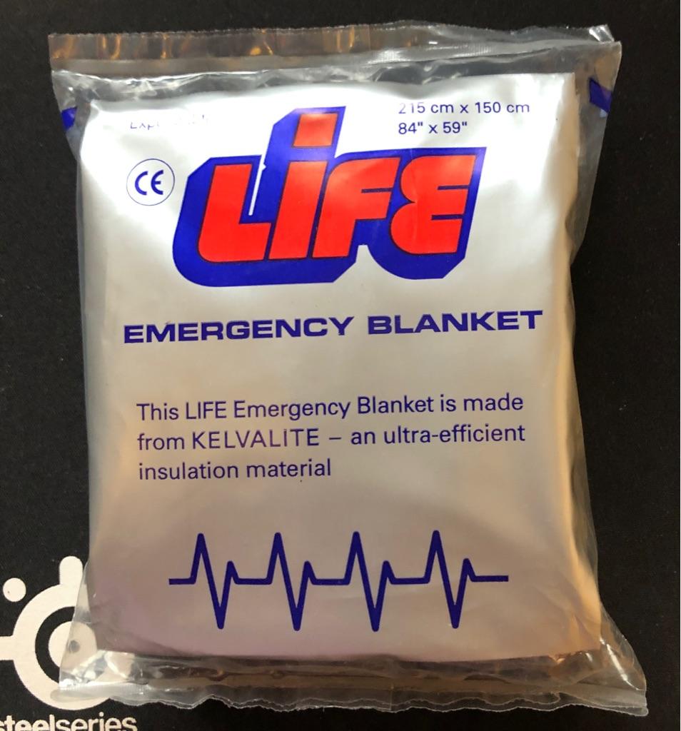 LIFE EMERGENCY BLANKET