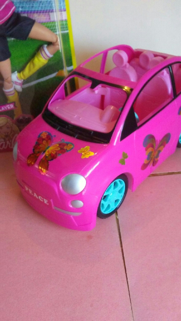 Fashion Doll cars