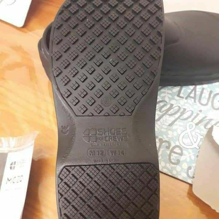 Shoes For Crews Zinc Light Comfortable Slip Resistant RRP£40