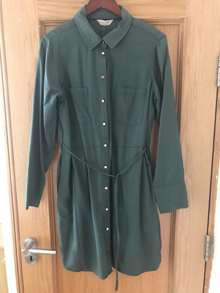 New green women's dress