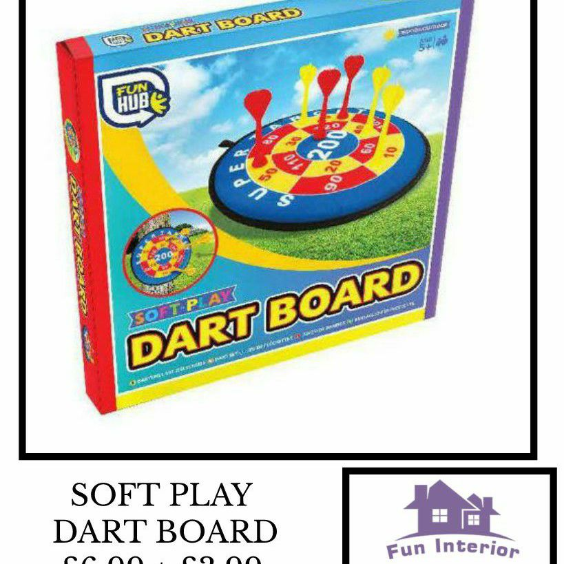 SOFT PLAY DART BOARD 🎯