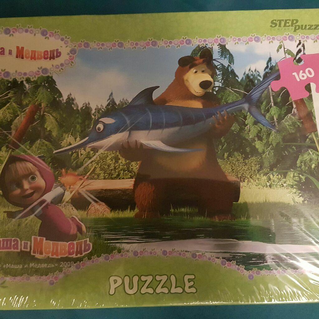 Masha and Bear puzzle