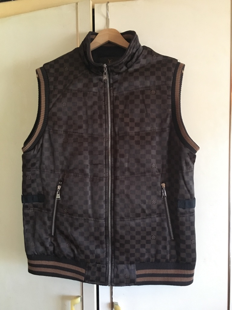 Louis Vuitton sleeveless jacket