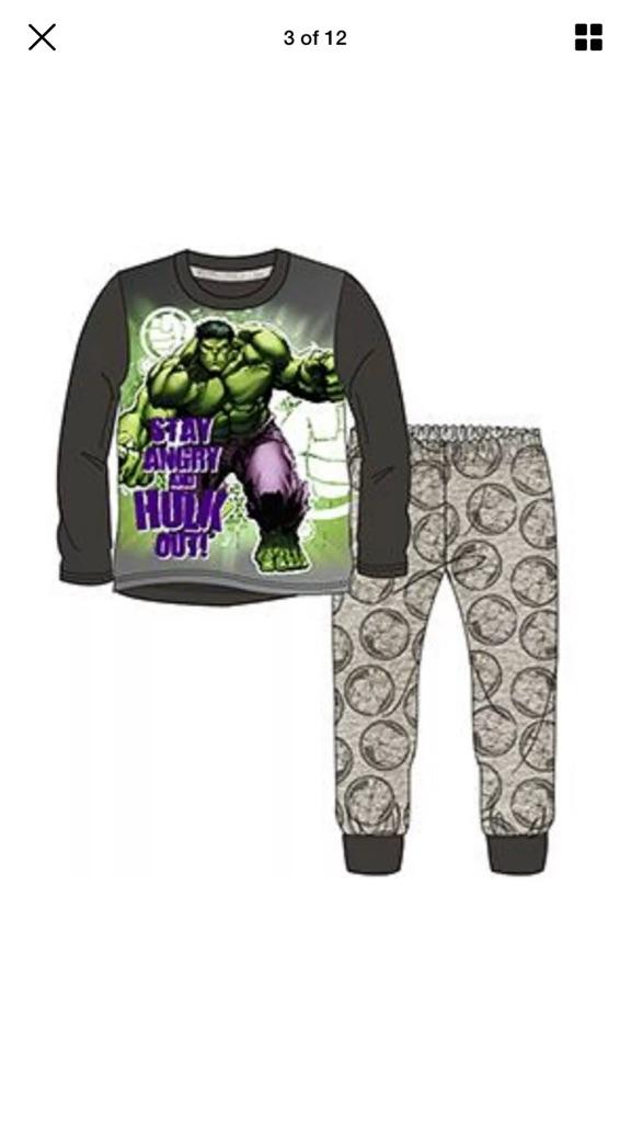 Hulk pjs new sealed