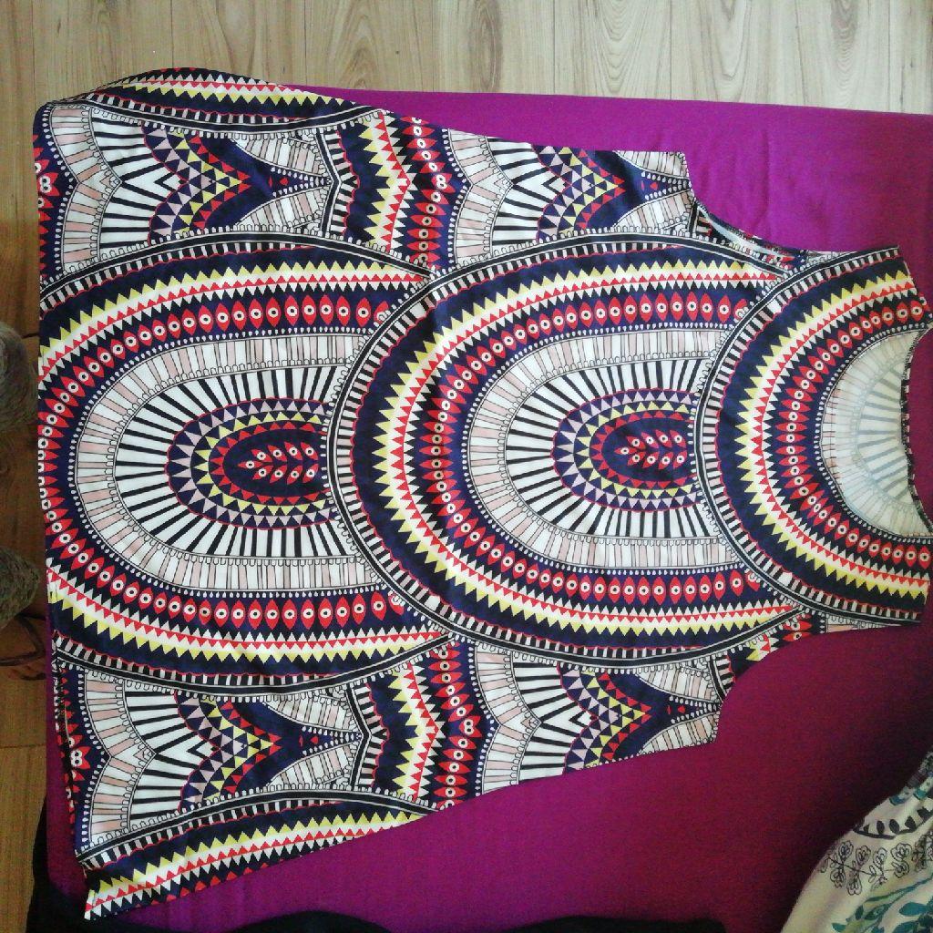 Summer Short African Dress