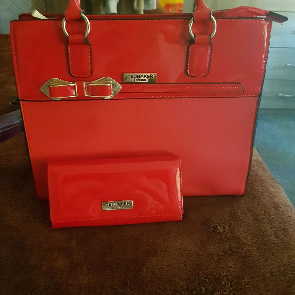 Ted baker bag and purse set