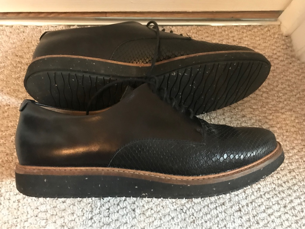 Clarks leather women shoes uk 6.5