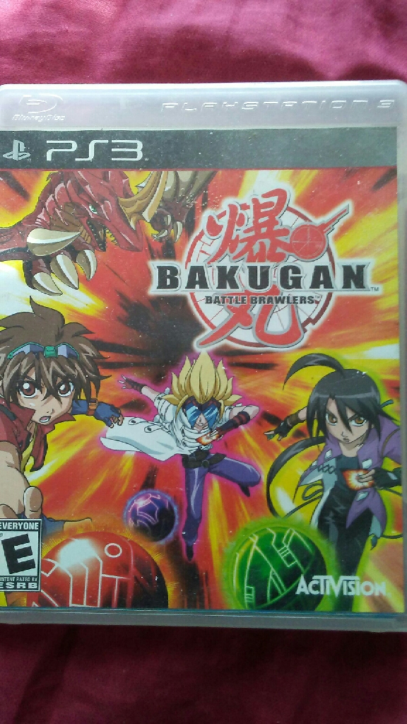 PS3: Bakugan Battle Brawlers/Toy Story 3/Lego Batman the videogame/ Ben 10 Ultimate Alien Cosmic Destruction