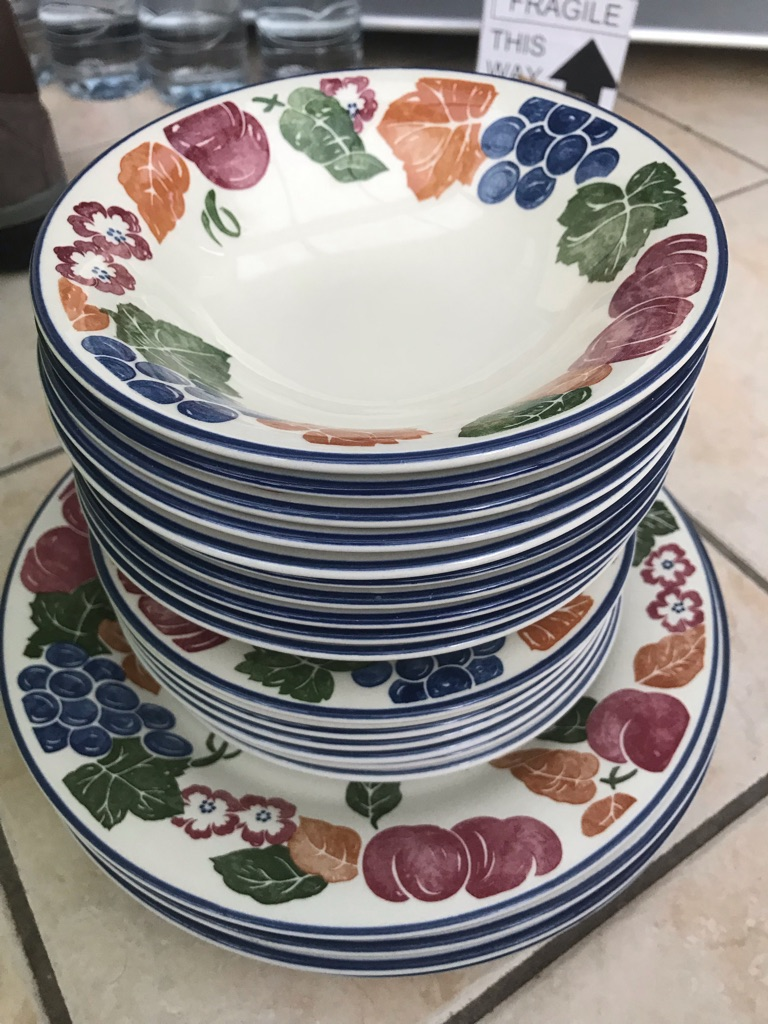 Staffordshire Tableware by Chianti Dinner set