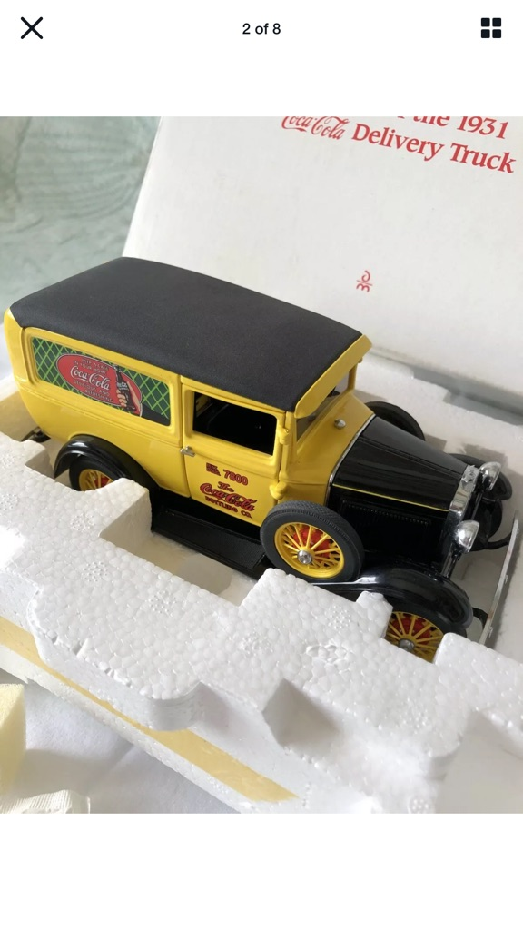 Franklin mint 1931 Ford