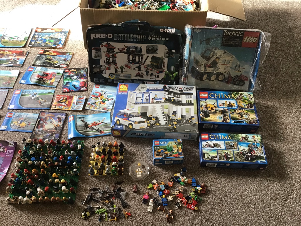 Lego massive bundle 16kgs