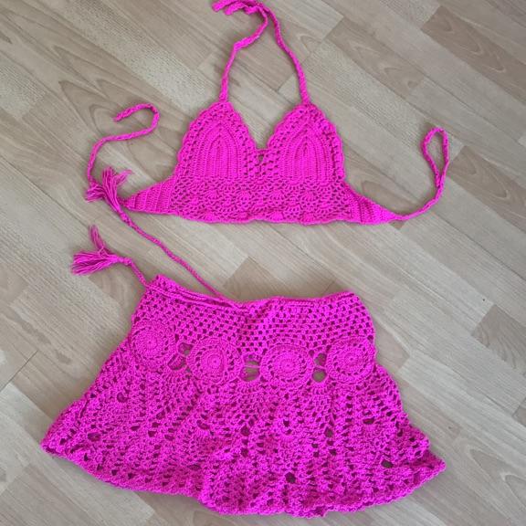 Beachwear - fuschia pink