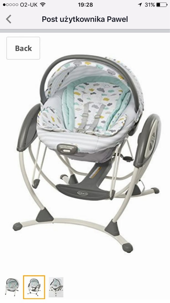 Graco 3in1 glider elite