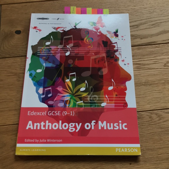 GCSE MUSIC ANTHOLOGY OF MUSIC EDEXCEL