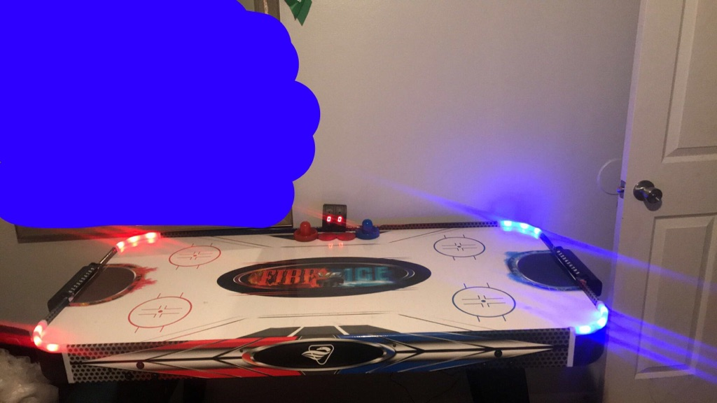 Fire and Ice Air hockey table