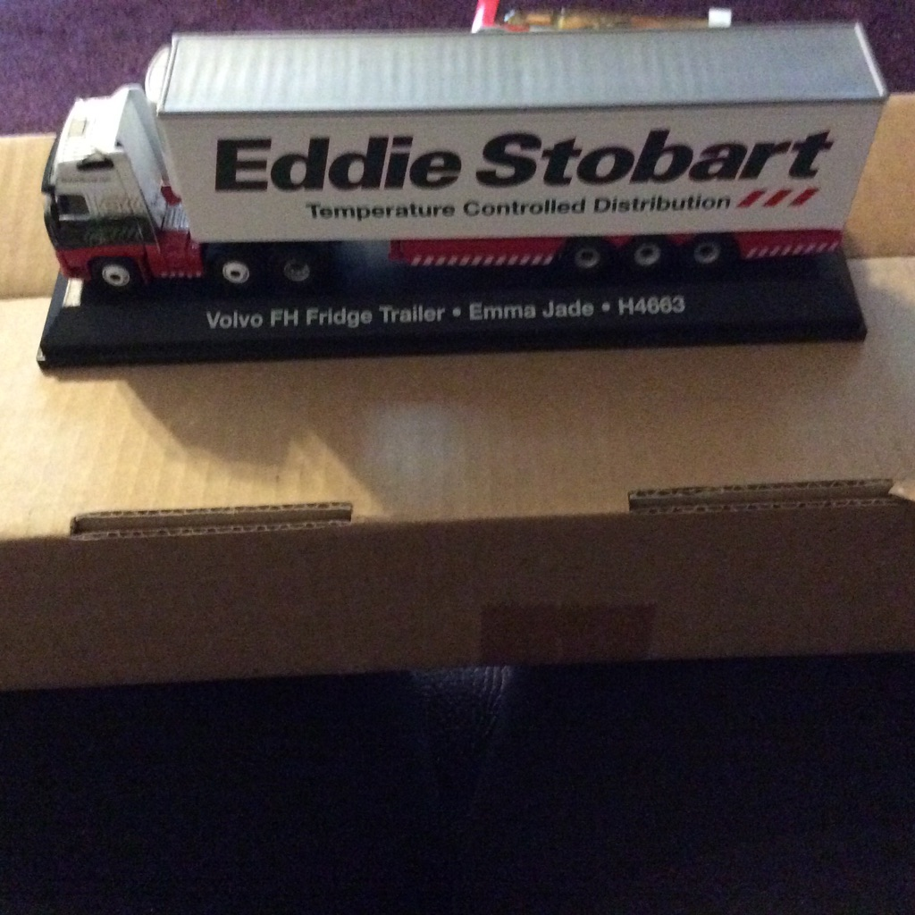 Eddie Stobart Temperature Controlled Distribution Lorry