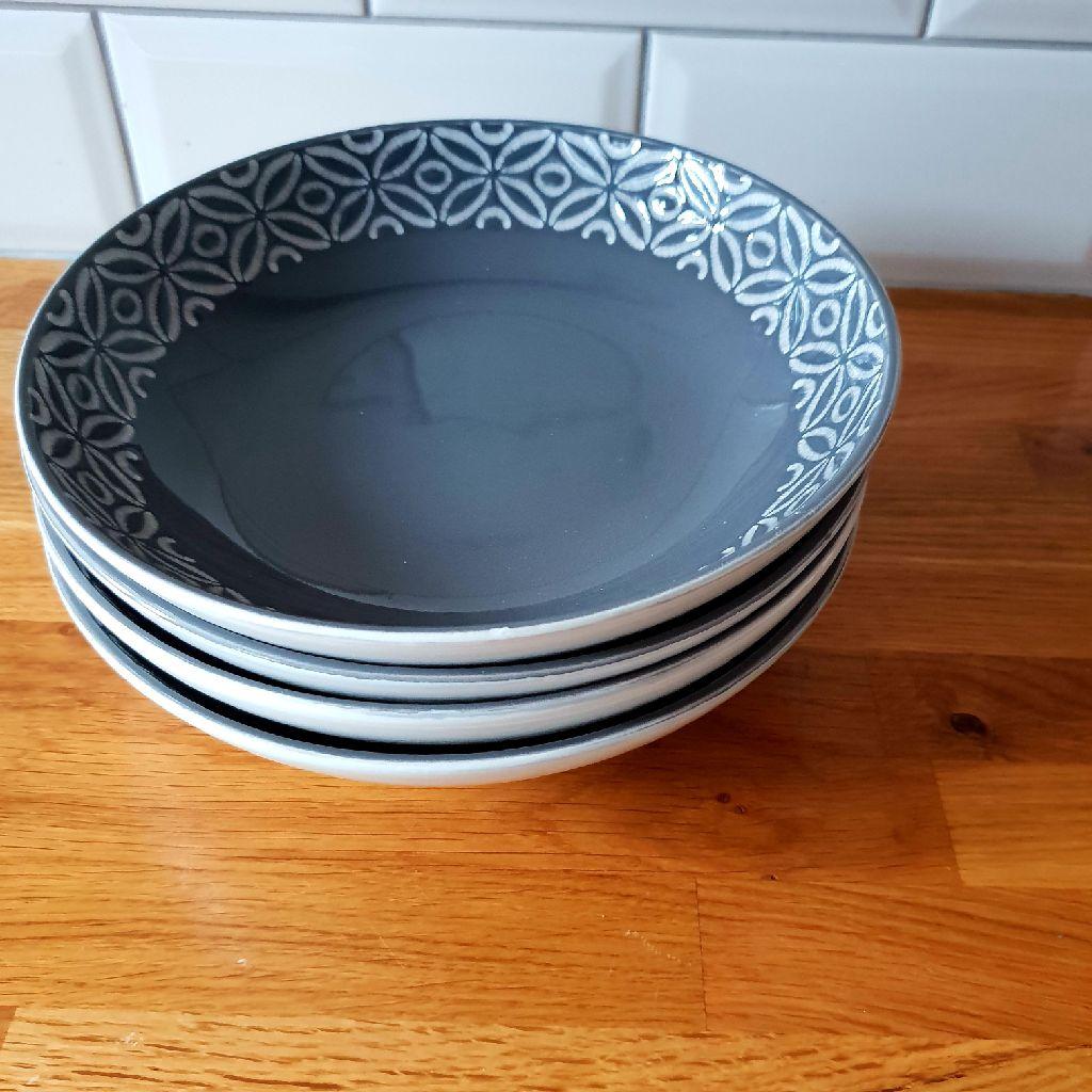 Printed pasta bowls