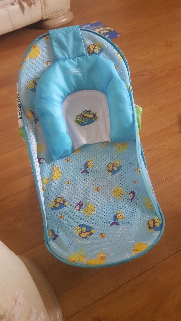 Baby bath chair & travel cot