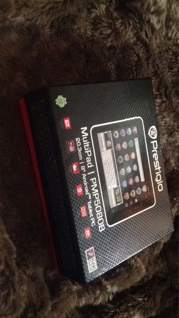 Prestigio tablet