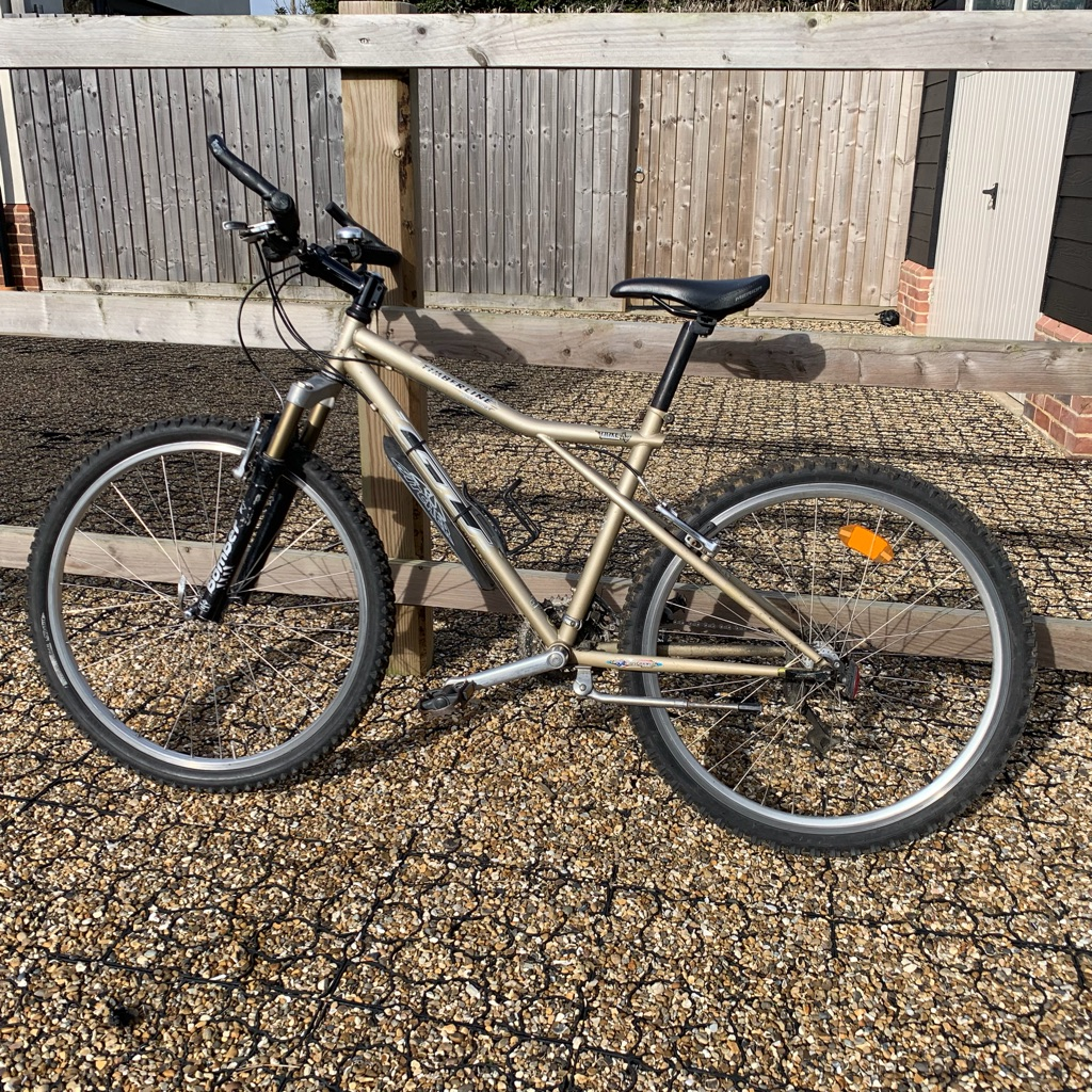 Woman's GT mountain bike