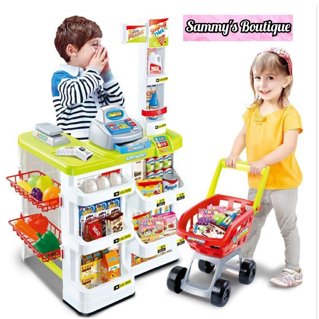 Supermarket Shop Play Set