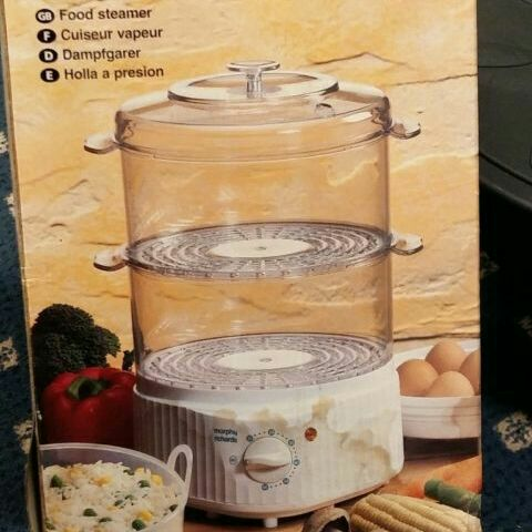 Brand New Morphy Richards Food Steamer