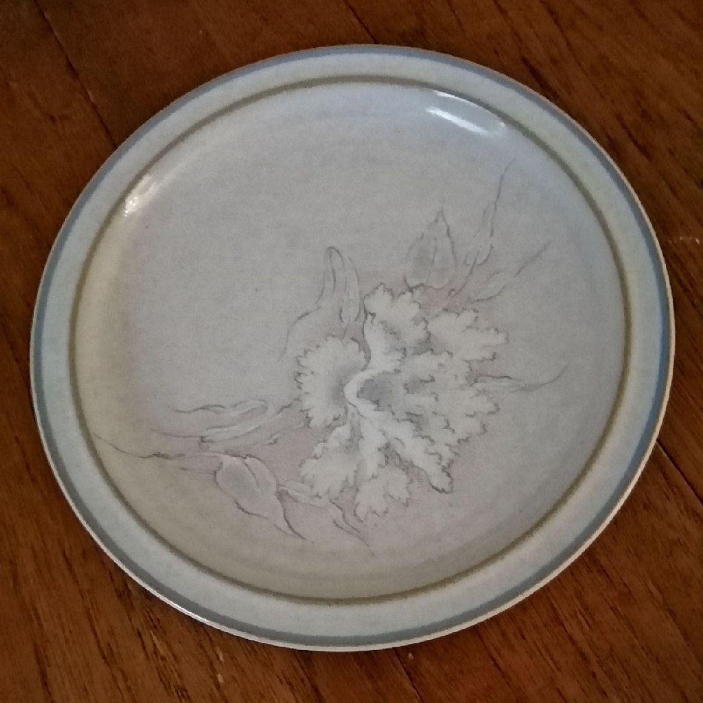 A Vintage Denby Tasmin Side Plate.