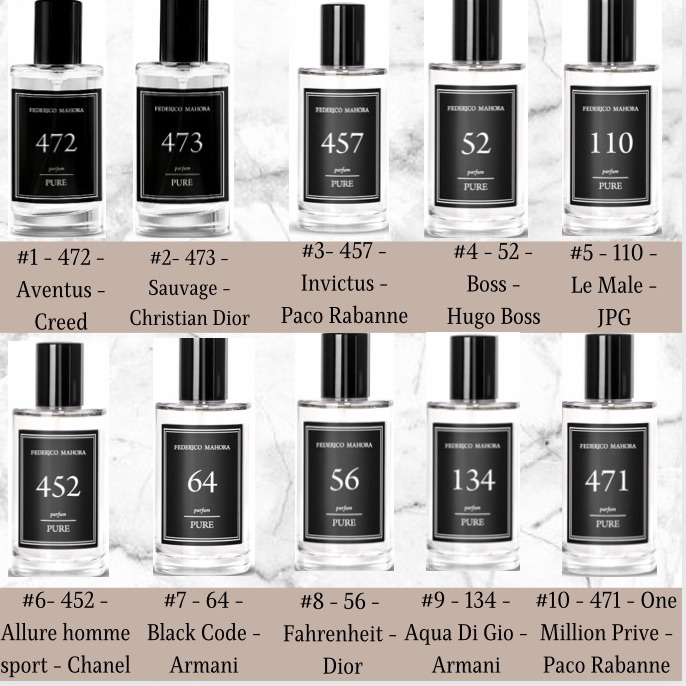 50ml pure for men