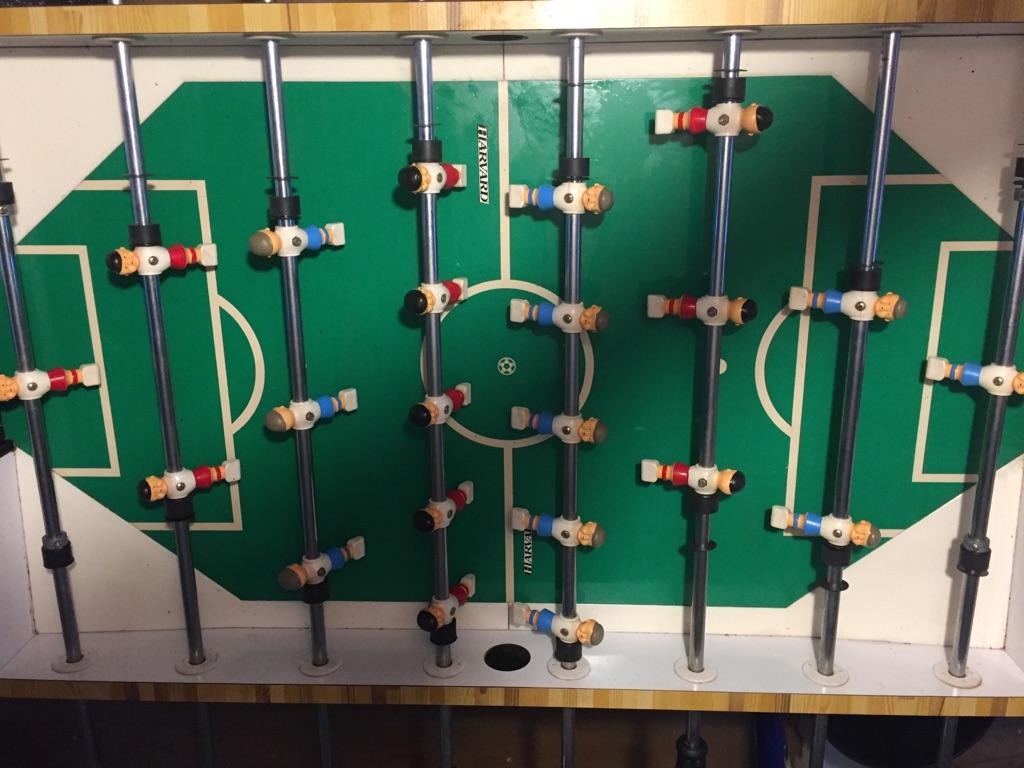 Harvard Budweiser Foosball Table