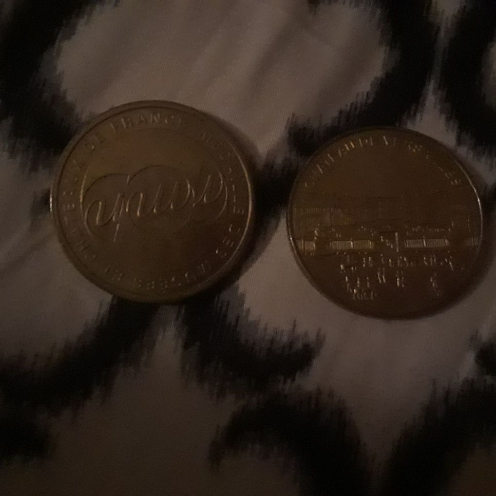 Two france coins