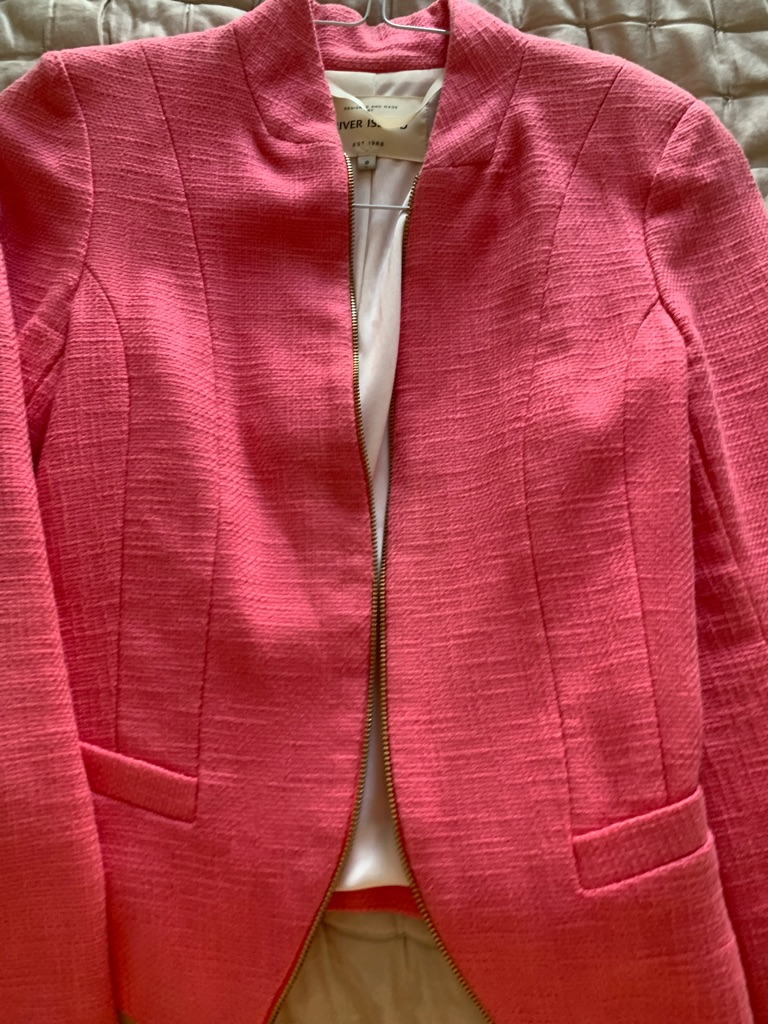 River Island fitted blazer style