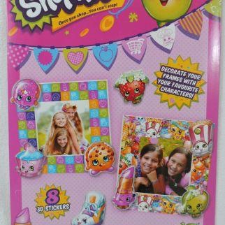 Shopkins make decorate your own photo frames