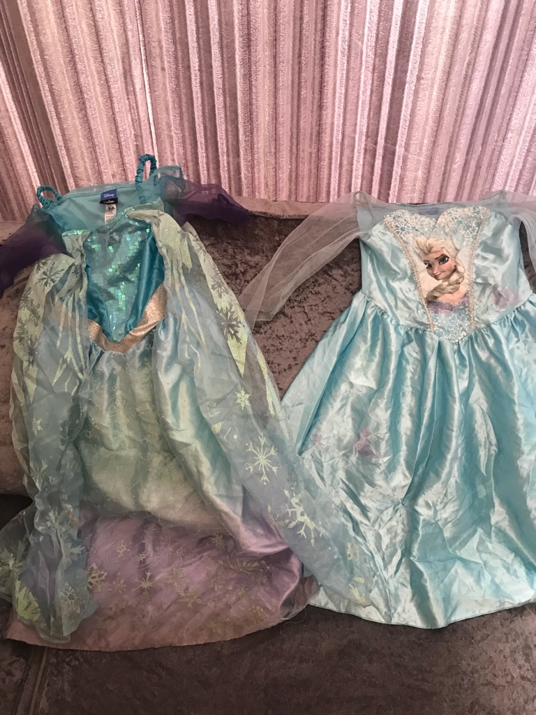 Elsa frozen costumes