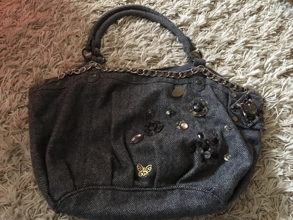 Grey Bag from Accessorize