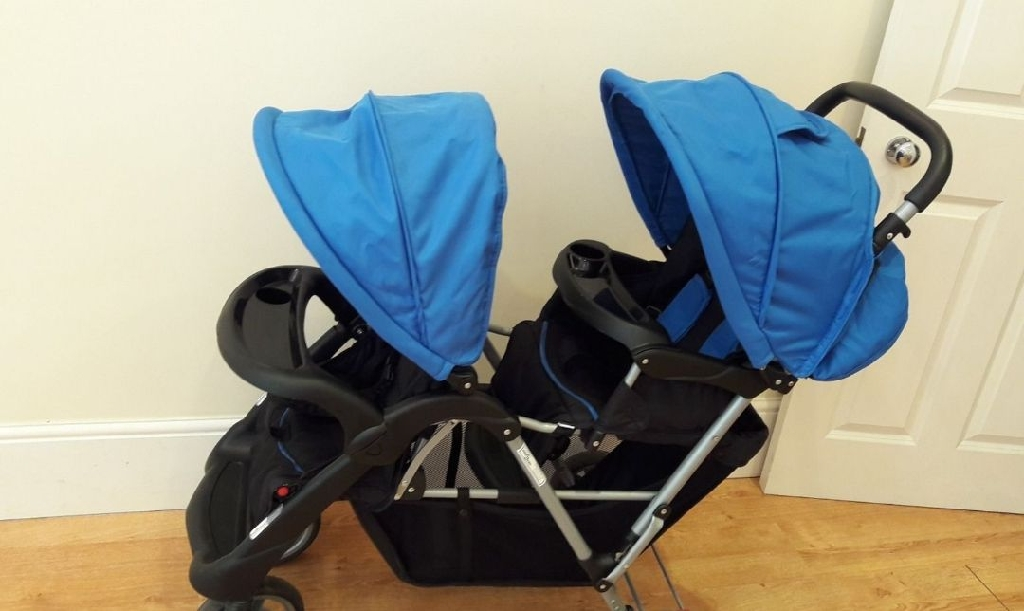 Double pushchair bought 2 weeks ago