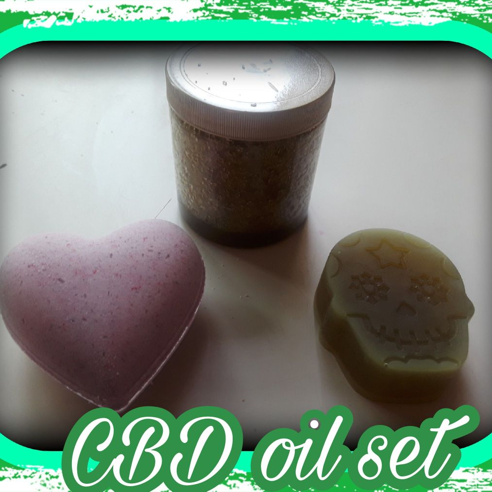 CBD oil bath bath products