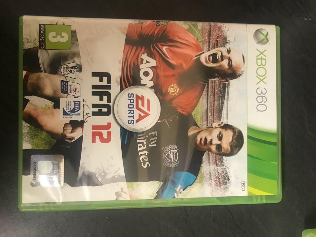Fifa 12 Xbox 360 game
