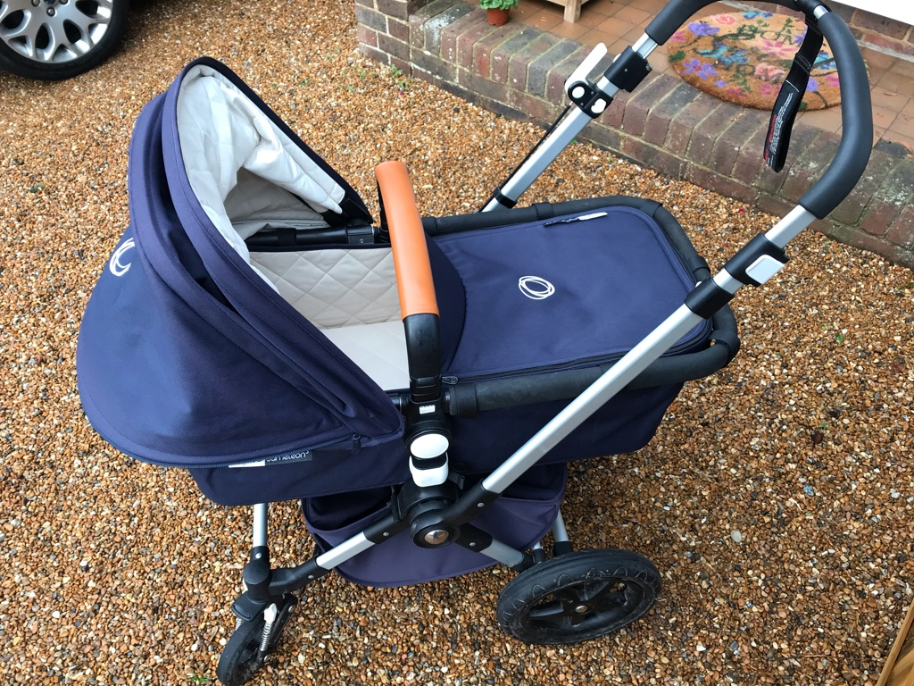 Bugaboo Chameleon 3 - Navy and Beige Quilted