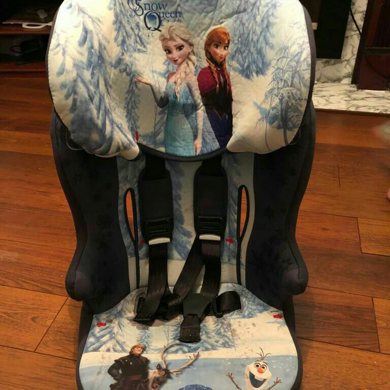 Frozen car seat and booster chair