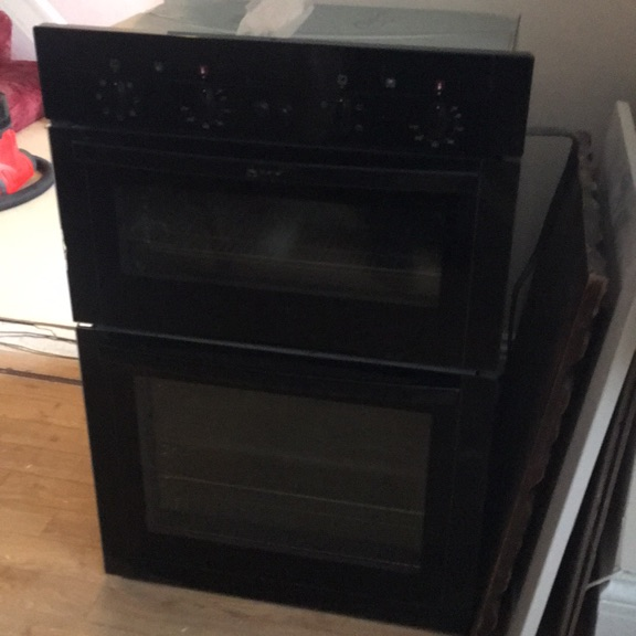 Neff double oven electric fan oven