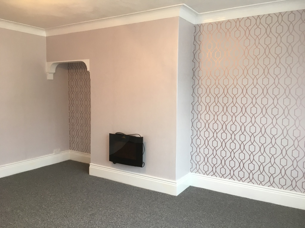 2 bedroom terrace house in Ashington. Fully modernised and required. New damp course and many other renewals