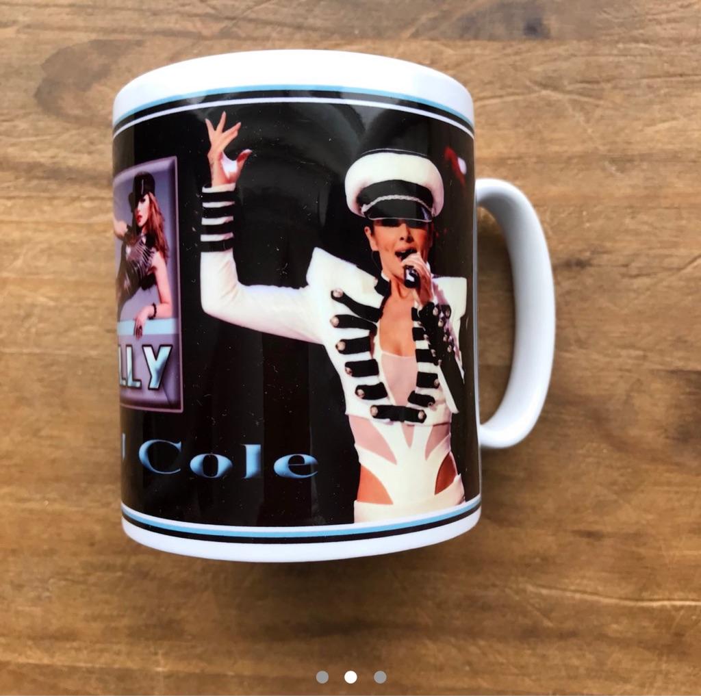 Cheryl mug with Kelly printed on it
