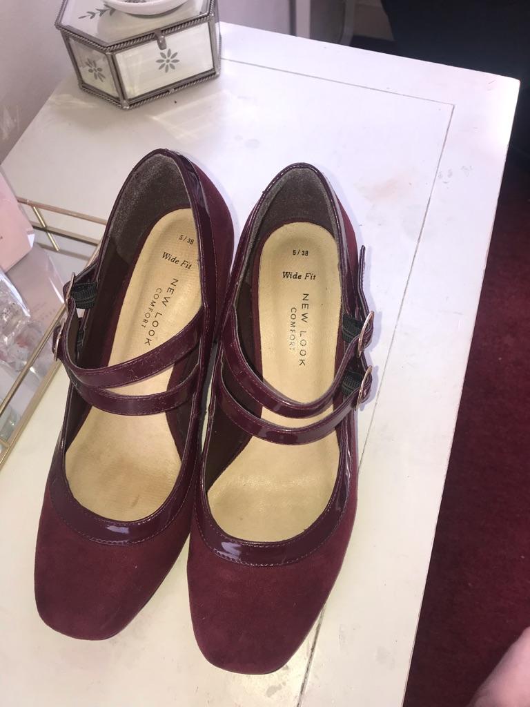 Purple-red heels