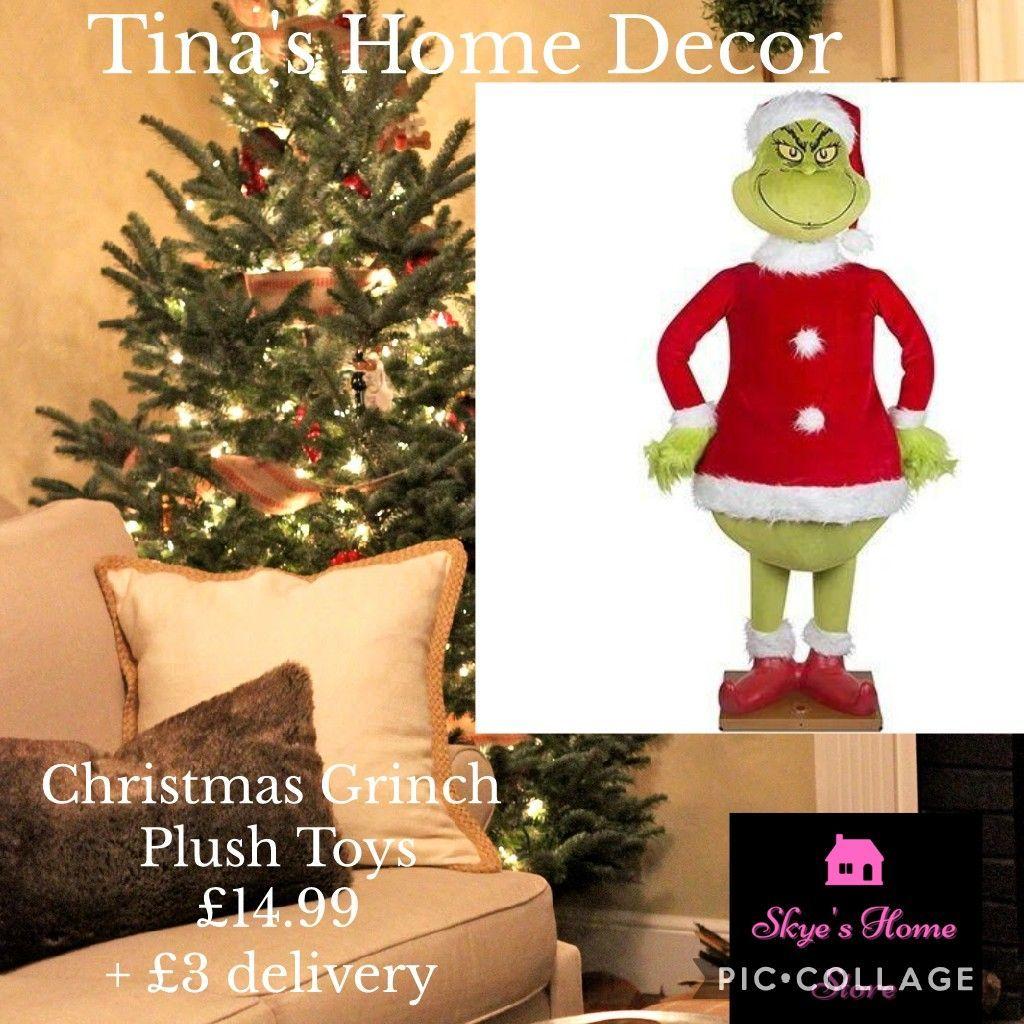 Christmas Grinch Plush Toys