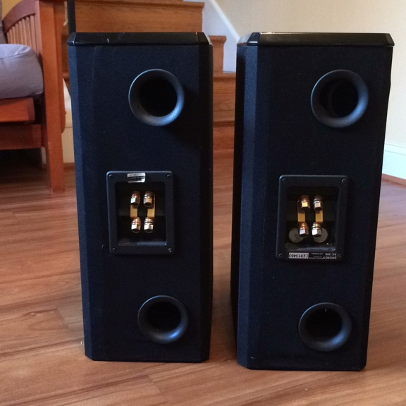 Pair home theater speakers