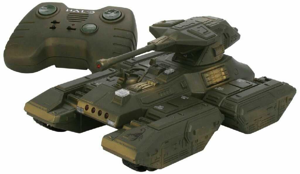 **** Excellent Condition HALO M808 Scorpion Battle Tank **** BATTERIES INCLUDED IN PRICE ****