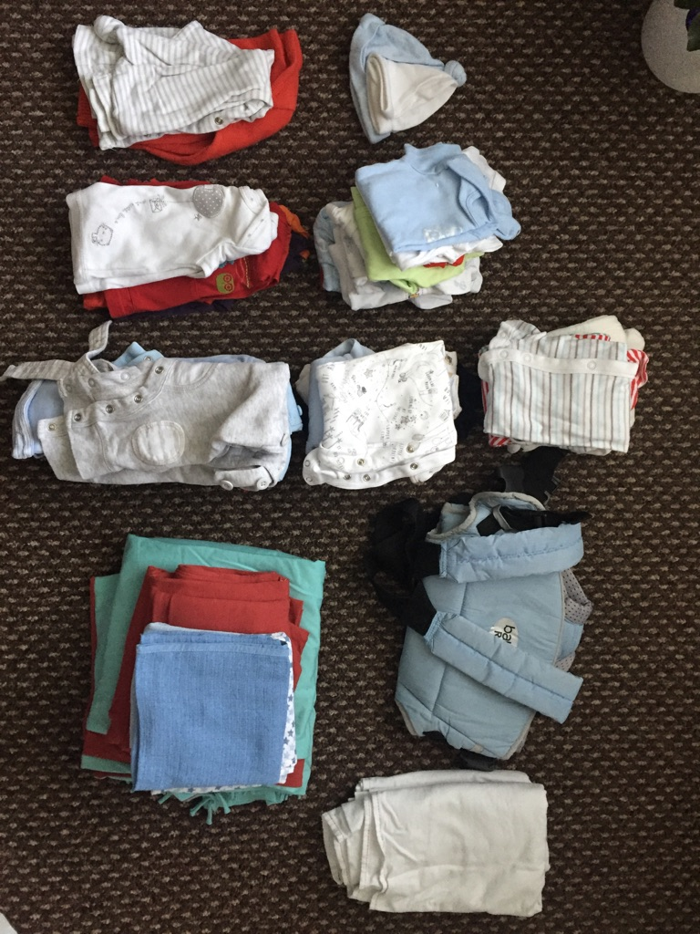 Boys Baby Clothes & Blankets & Sling