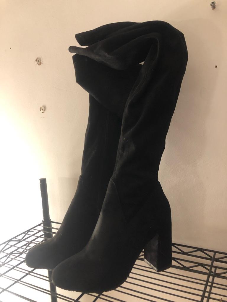 Overknee heels size 39/6