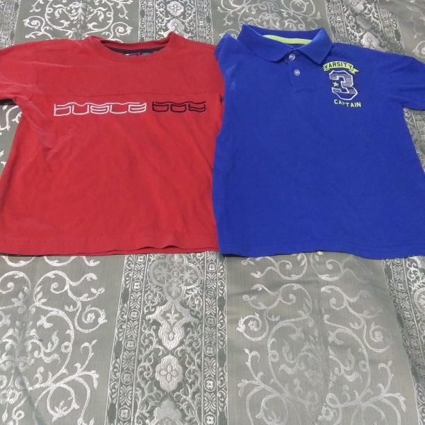 Boys size 6 short sleeve shirts